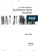 3 Semana Uwe Flick 2014 the SAGE HB of Qualitative Data Analysis Introducao