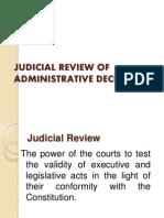Judicial Review of Administrative Decision Final