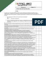 FSA 013 Checklist Food Security