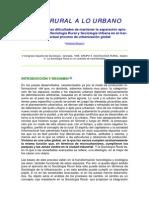 Texto 1 SU -De Lo Rural a Lo Urbano - Artemio Baigorri