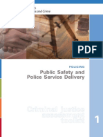 1 Public Safety and Police Service Delivery