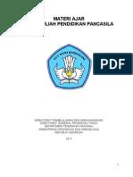 Pendidikan Pancasila 2013