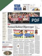 EPaper Harian Seputar Indonesia 13 Oktober 2009