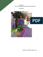 Productos Del Modulo 1. Profra. Loreida Cruz de La Cruz