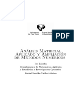 Analisis Matricial Zaballa