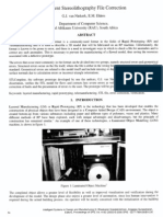 Intelligent Stereo Lithography File Correction