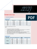 Internet Data Plan