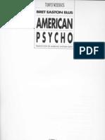 American Psycho Fragmento