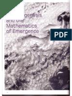 Morphogenesis and the Mathematics of Emergence