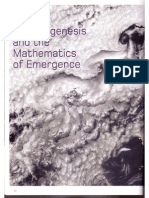 Morphogenesis and the Mathematics of Emergence