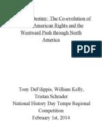 NHD 2014 Official Bibliography Regionals