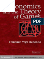 Fernando Vega-Redondo Economics and the Theory of Games 2003
