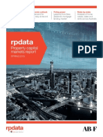 RPData Capital Markets Report SPRING 2013