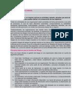 Resumen Gestión de Riesgos ISO 31000