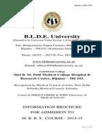 BLDEU UGET Information Brochure