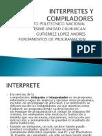 Interpretes y Compiladores