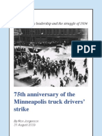 75 years since the 1934 Minneapolis truck drivers strike