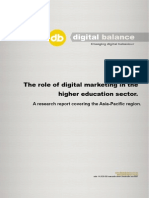 The Use of Digital Marketing Within the Higher Education Sector