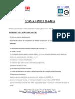 Criterio Para Descartar Elementos de Izaje B30.9
