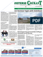 Monsterse Courant week 09