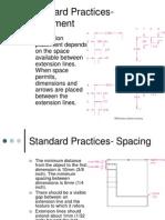 Standard Practice - Dimensioning