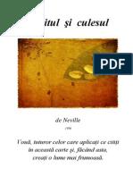 05 Neville Goddard Saditul Si Culesul