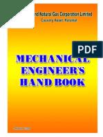 A Mechanical Engineer's Handbook by ONGC