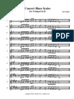 Blues Scales Trumpet