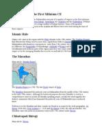 Maharashtra in the First Milinium CE