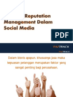 Building Reputation Management Dalam Social Media