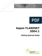 Aspen FLARENET Getting Started