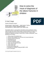 Elbow Injuries in Children