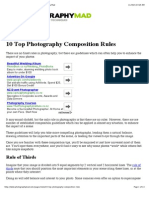 Top 10 Photography Composition Rules