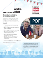 Sport Relief Bake Off Kit