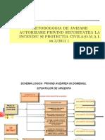 Normele Metodologice de Avizare Si Autorizare Privind Securitatea La Incendiu Si Protectia Civila (Extras Din OMAI 3-2011)