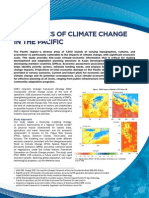 Economics of Climate Change in the Pacific