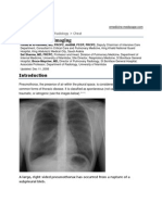 Pneumothorax Imaging