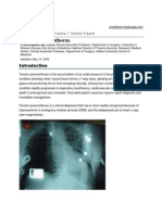 Tension Pneumothorax by H Scott Bjerke, MD, FACS