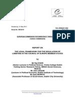 the legal framework for the regulation of lobbying-2010.pdf