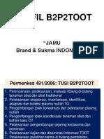 165274048 B2P2TOOT Saintifikasi JAMU Kestraindo