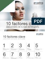 10 Factores Clave Exito Web Fotografia