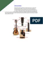 Panduan Belajar Gitar Untuk Permulaan