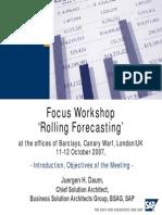 Rolling Forecasting 2007 Short