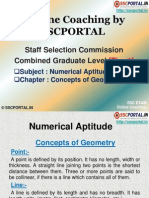 SSC CGL Numerical Aptitude Concepts of Geometry