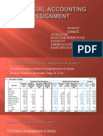 Financial Accounting Assignement