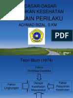 (5) Domain Perilaku