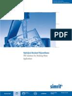 06. Simrit - Broșura Hydrolysis-Resistant Polyurethanes