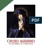 Credo Mariano de San Gabriel de la Dolorosa