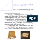 Motive pentru care merită să alegi un parchet din lemn stratificat în raport cu o pardoseală laminată