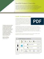 NuoDB Product Brochure Final